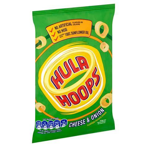 Hula Hoops Cheese & Onion Crisps 34g   BB Foodservice
