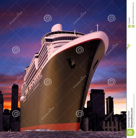 Cruise Ship Royalty Free Stock Image - Image 11185686