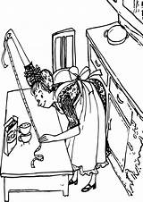 Coloring Amelia Rice Bedelia Pages Wecoloringpage sketch template