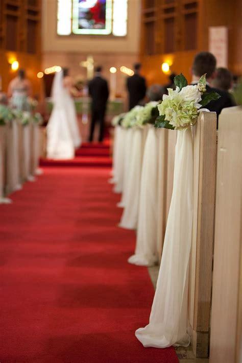 Diy Pew Bows Wedding Ceremony Pinterest Wedding