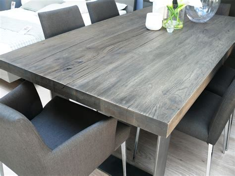 Dining Table: Grey Wash Dining Table