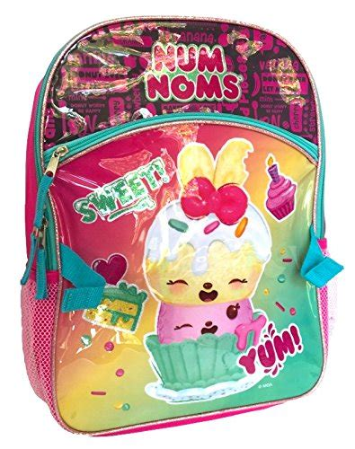num noms  birthday cake backpack  detachable