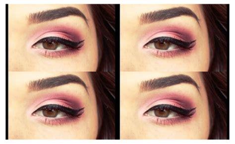 pink rhapsody makeup tutorial deep pink smoky eyeshadow