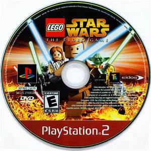 Lego Star Wars The Video Game 2005 Playstation 2 Box