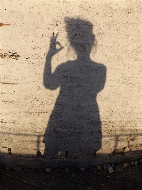 photo shadow human shadow play  image