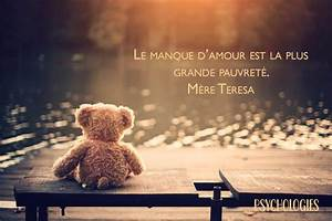 Le Manque D U0026 39 Amour Est La Plus Grande Pauvret U00e9