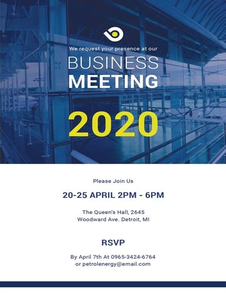 21+ Business Invitation Examples Templates & Design Ideas