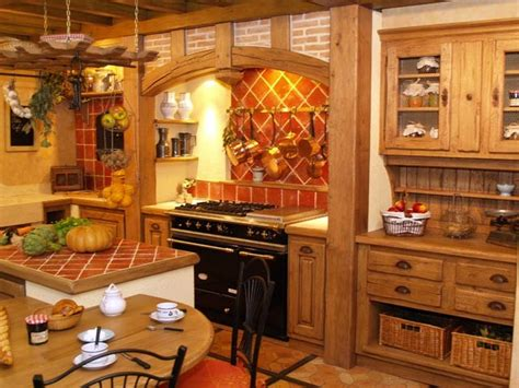 la cuisine cagnarde apporte l 39 esprit rustique à la maison