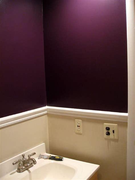 dark purple walls ideas  pinterest purple