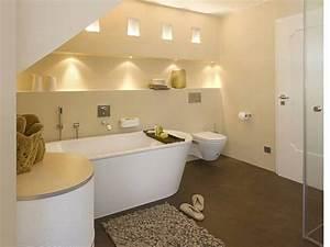 Indirekte Beleuchtung Badezimmer : in decke und wandnische eingebaute spots sorgen f r eine warme indirekte beleuchtung das zw lf ~ Sanjose-hotels-ca.com Haus und Dekorationen