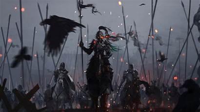 Fantasy Dark Warrior Battle Knights Knight 1080p