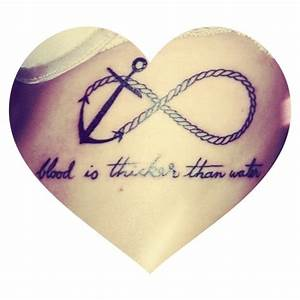 Anchor Infinity Tattoos With Quotes. QuotesGram