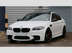BMW F10 M5 fitted with HRE P101 forged wheels and lowered