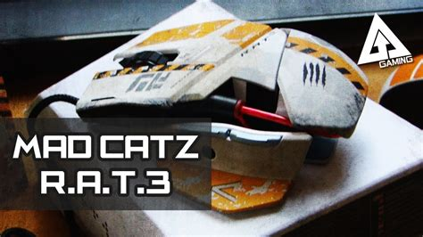 Titanfall Mad Catz Rat 3 Gaming Mouse Unboxing Youtube