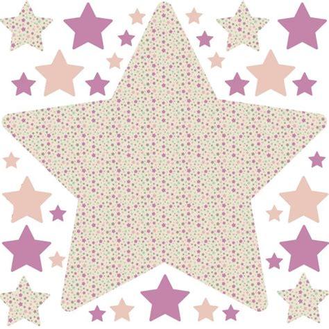 chambre fille etoile stickers enfant stickers chambre fille étoile