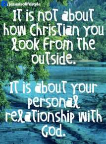 Personal Relationship with God