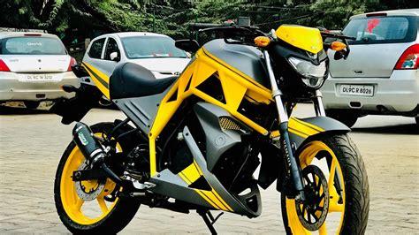 Modification Ducati by Yamaha Fz Modified Bike Modification Into Ducati Style