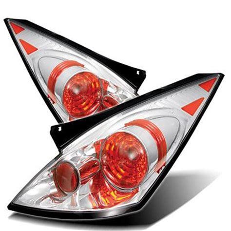 nissan 350z tail lights nissan 350z 2002 2005 clear altezza tail lights