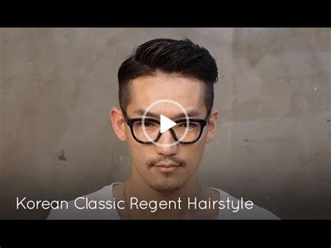 haircuts for guys with hair korean korean classic regent hairstyle for 3651