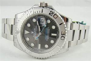 Rolex 116622 Yacht Master Rhodium Dial Chitown Watch