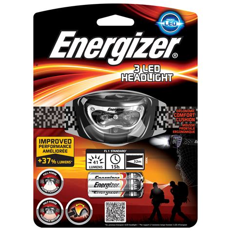 energizer 3 led headlight le energizer sur ldlc