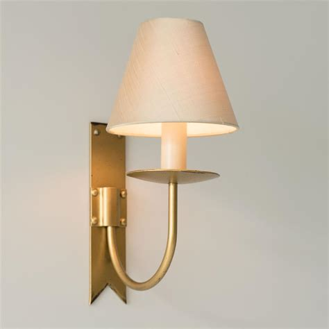 old gold single cottage wall light traditional wall