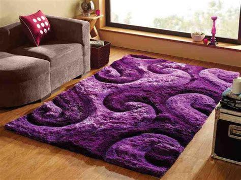 Beautiful Shag Purple Area Rug For Girls Room Purple