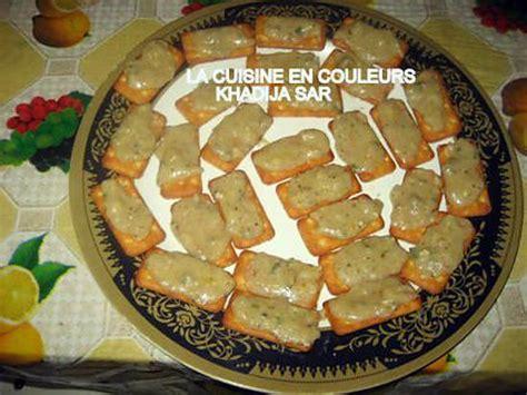 canapé apéritif froid recette de canapés salés au fromage