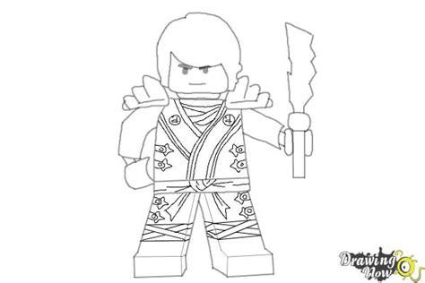 draw cole  lego ninjago drawingnow