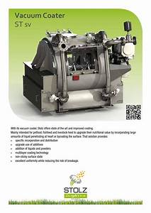 Vacuum Coater By Stolz
