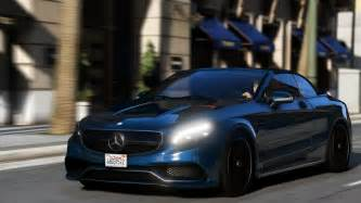 mercedes benz  amg cabriolet add  replace gta