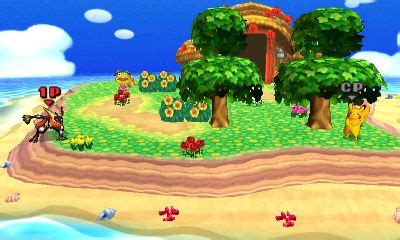 super smash bros  nintendo ds stages tortimer island