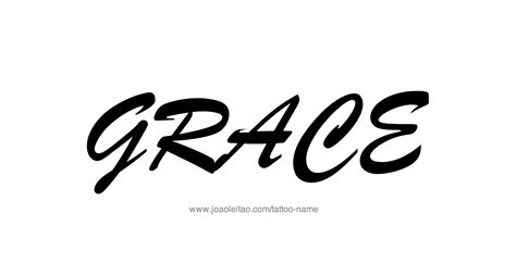 grace  tattoo designs