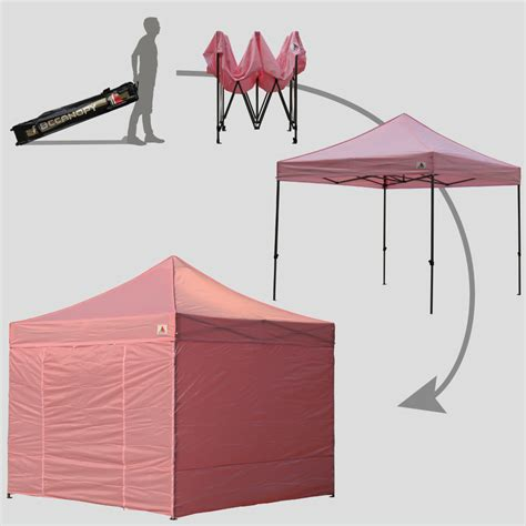 abccanopy  pink deluxe ez pop  canopy package abccanopy