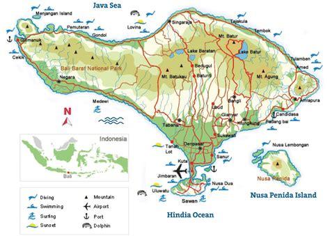 map nengah bali