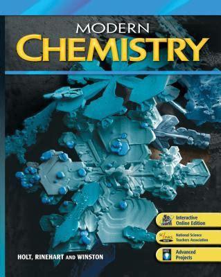 modern chemistry by holt rinehart winston reviews description more isbn 9780030367779