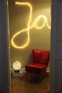 Buchstaben Deko Kinderzimmer : 25 einzigartige lichtschlauch ideen auf pinterest garage beleuchtung garagenbeleuchtung und ~ Orissabook.com Haus und Dekorationen
