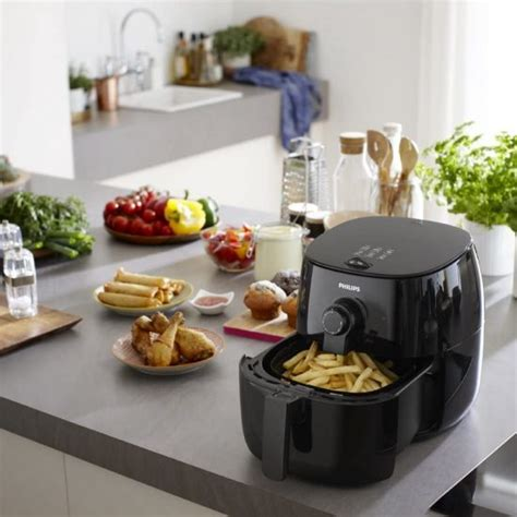 air fryer two analog philips interface