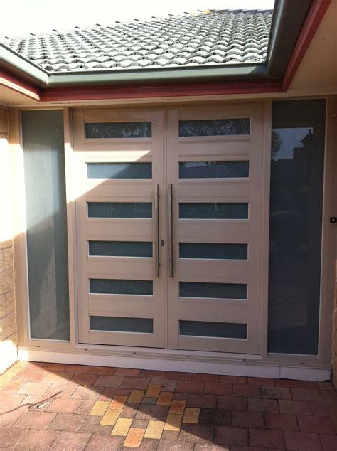 aluminium net door design home  kitchen