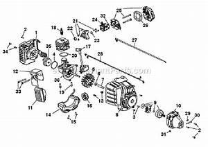 Troy Bilt 25cc Trimmer Carburetor