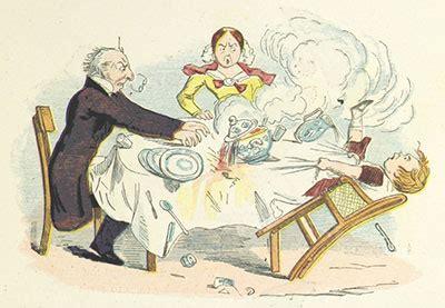 ilustracion del libro funny books  boys  girls