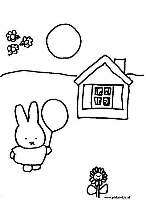 Kleurplaat Nijntje Verjaardag by Kinderpleinen Nijntje Kleurplaten