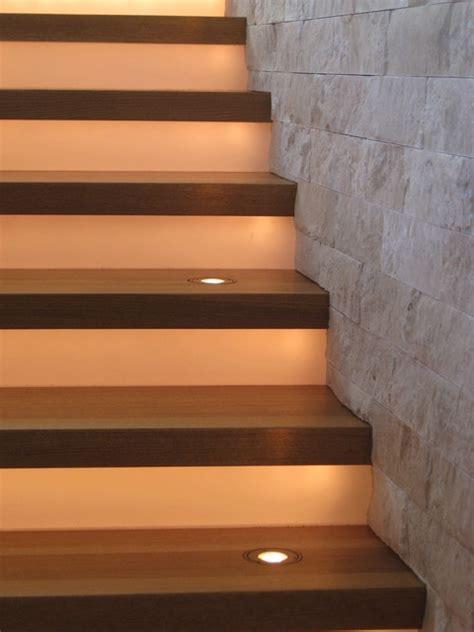 modern stair lighting modern staircase denver