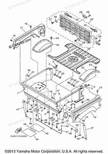 Yamaha Side By Side 2004 Oem Parts Diagram For Carrier