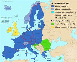 Europe's Free Travel Zone in Danger: Map of Temporary ...
