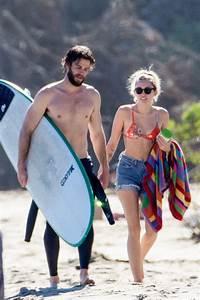 Liam Hemsworth and Miley Cyrus in Malibu 3/2/ 2017