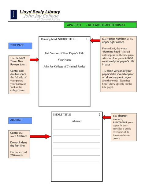 Apa Template 40 Apa Format Style Templates In Word Pdf