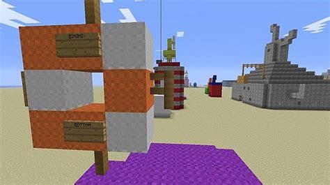 bikini bottom minecraft map