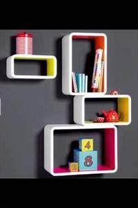 Regale Jugendzimmer : wandregal wandboard regal rechteck pink gelb neu ~ Pilothousefishingboats.com Haus und Dekorationen
