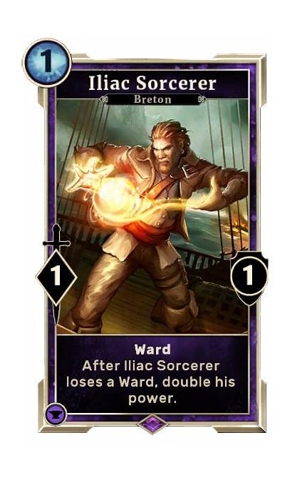 Sorcerer Iliac Gamepedia Elder Scrolls Legends